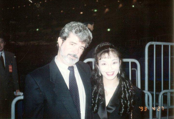with George Lucas Super live Adventu