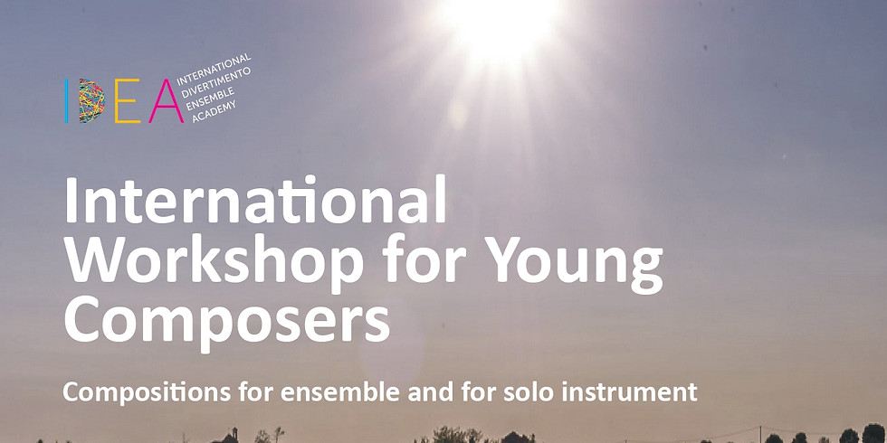 Italy, International Workshop for Young Composers 2021