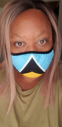 Country Flags Face Mask (full)