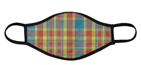 Madras style Face Mask