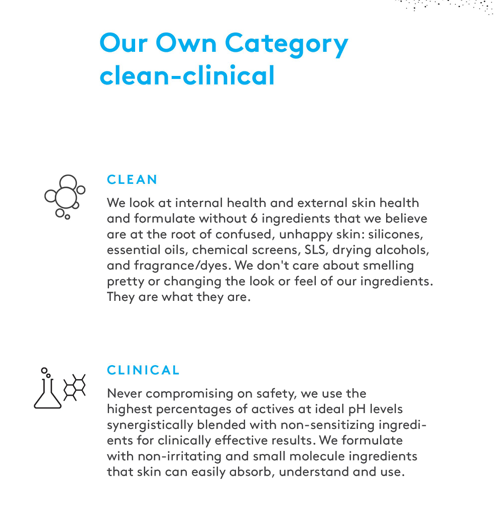 Drunk Elephant Clean Clinical