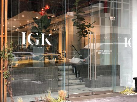 IGK Opens Dreamy Salon Across From Swanky Soho Grand Hotel