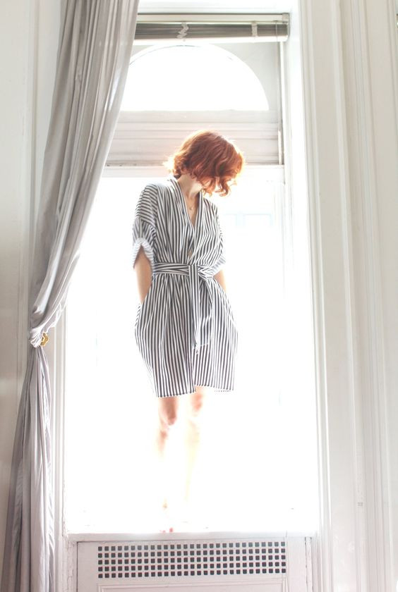 Shorty (Silk Kimono)