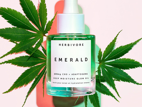 Herbivore Launches the CBD Version of their Emerald Facial Oil