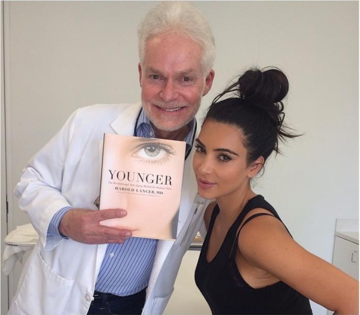 Dr. Lancer + Kim Kardashian
