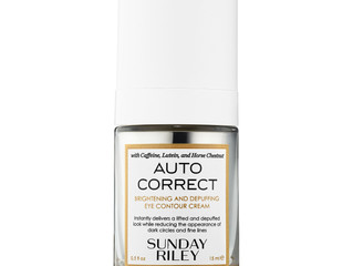 "Goodbye, Dark Circles: Sunday Riley's Eye Cream ""Autocorrect"" Launches In Sephora Stor"