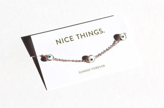 Nice Things Evil Eye Bracelet