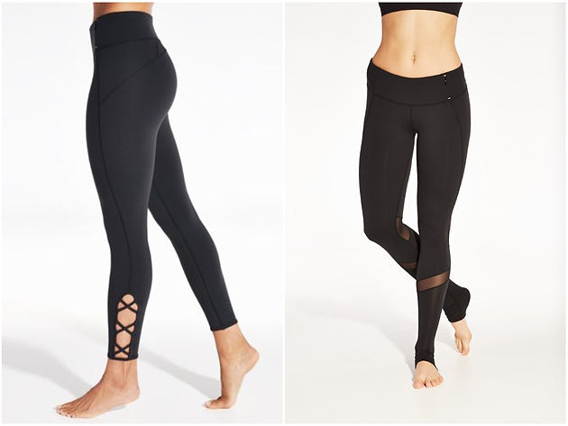 bbe7cfaad98924 CALIA by Carrie Underwood 7/8 Criss Cross Leggings ($45, orig. $75) + the  sold-out Women's Extended Heel Leggings are also top-rated and cute ways to  ...