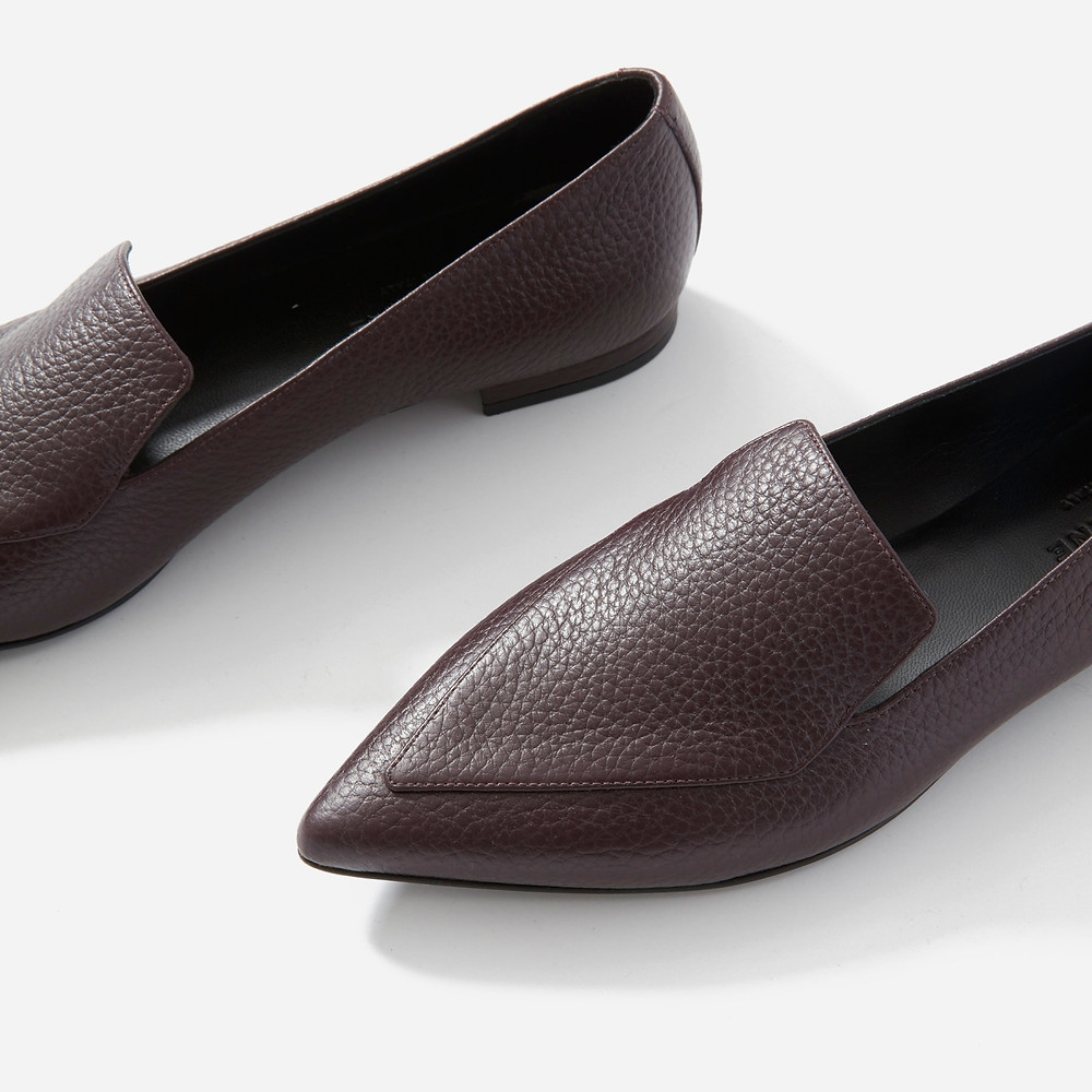 Everlane Point Toe The Boss Flat