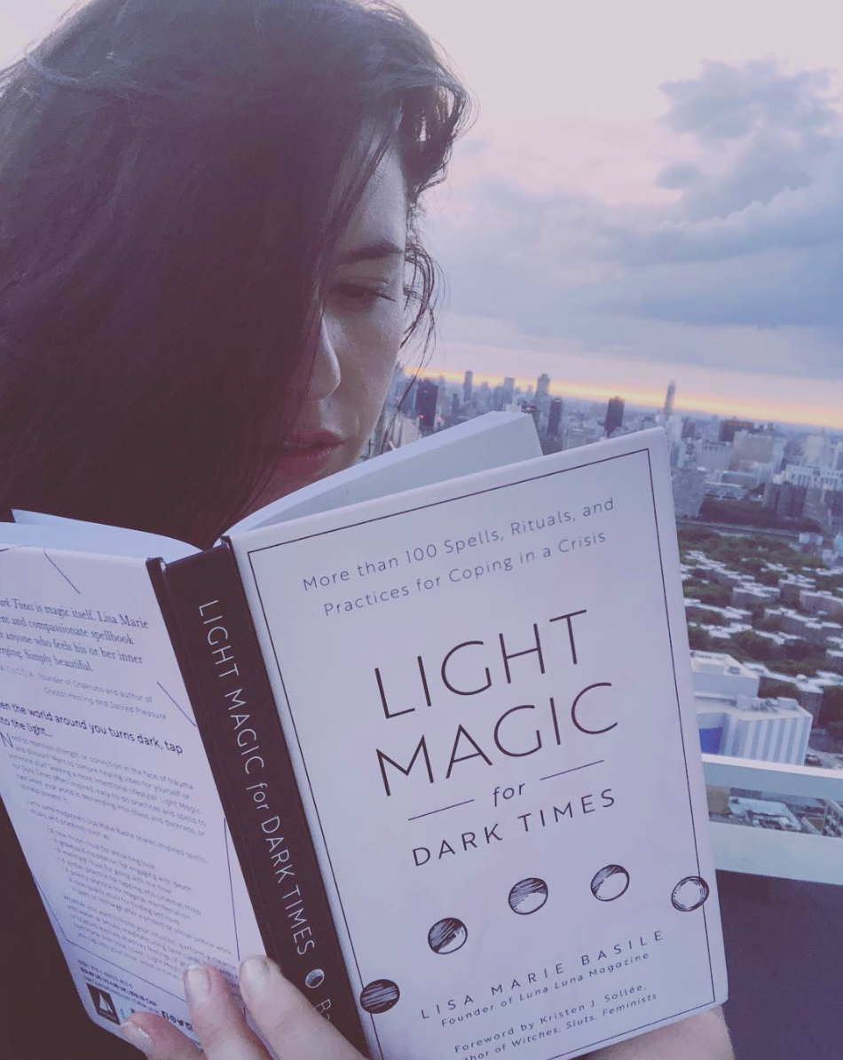Lisa Marie Basile Light Magic for Dark Times