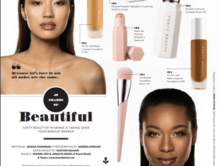 What Fenty Beauty's Skin-Clusive Foundation Launch Means to the Beauty World