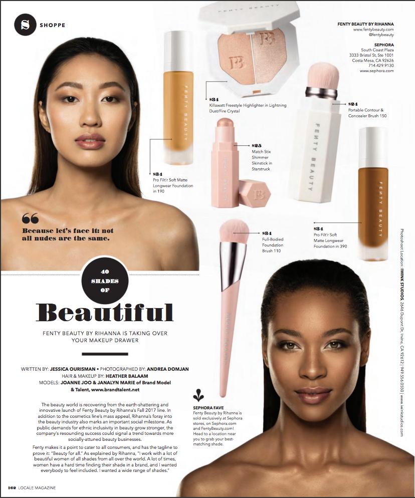 Locale Magazine Fenty Beauty