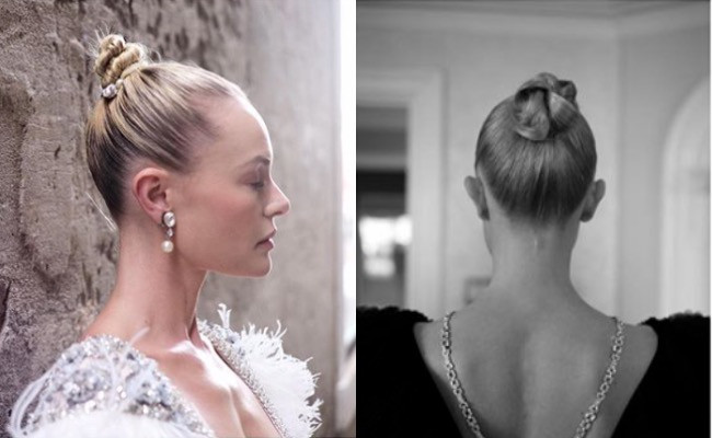 Kate Bosworth celebrity hair bun