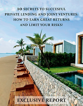 10 secrets to succesful private lending.