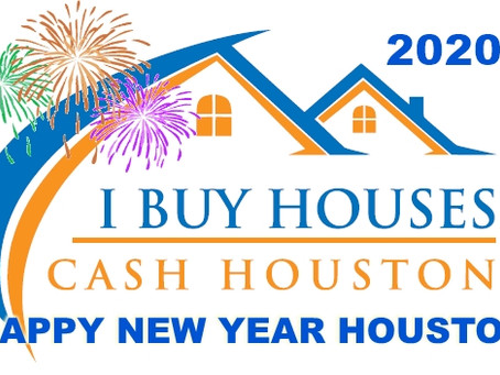 Happy New Year From I Buy Houses Cash Houston