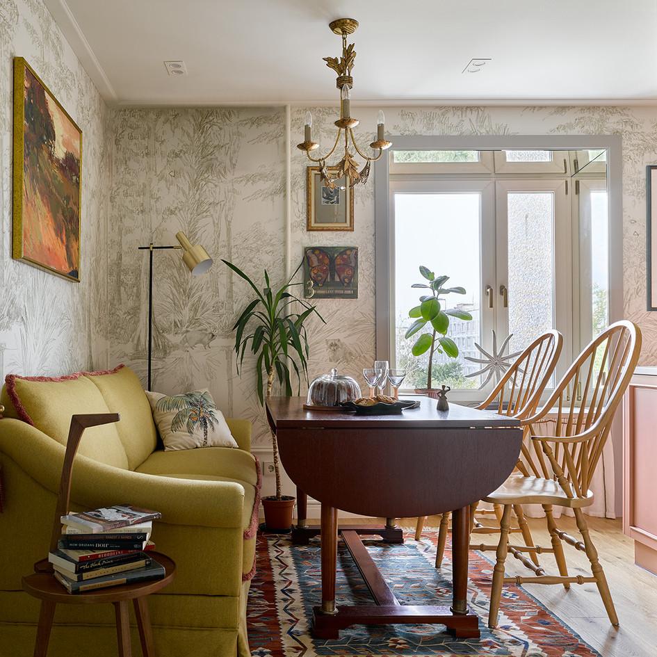Двухкомнатная квартира в Москве