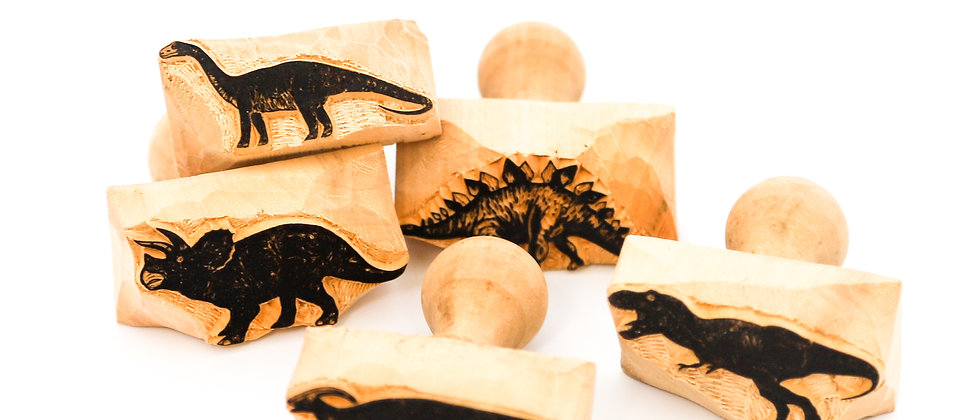 Dough Stamp Collection / Individual - Dinosaurs