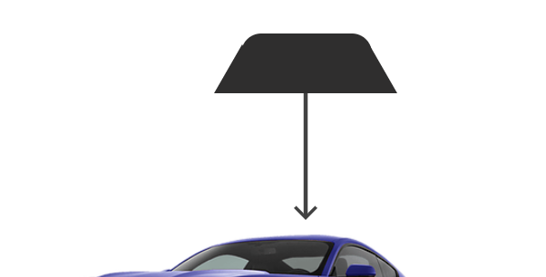 Rear Back Windows ( 2 Door Car Kits )