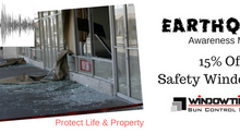 Be prepared and protect life and your property with Safety Window Films