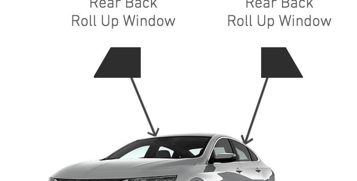 Rear Side Windows ( 4 Door Car Kits )