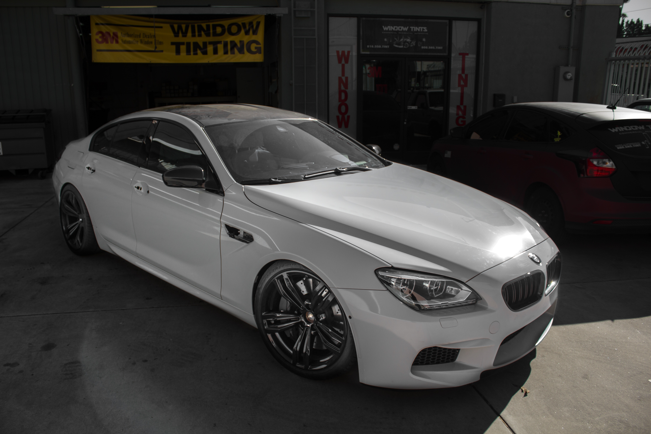 BMW M6 Vehicle Wrap