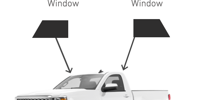Front Roll-Ups Window ( Standard Cab Truck Kits )