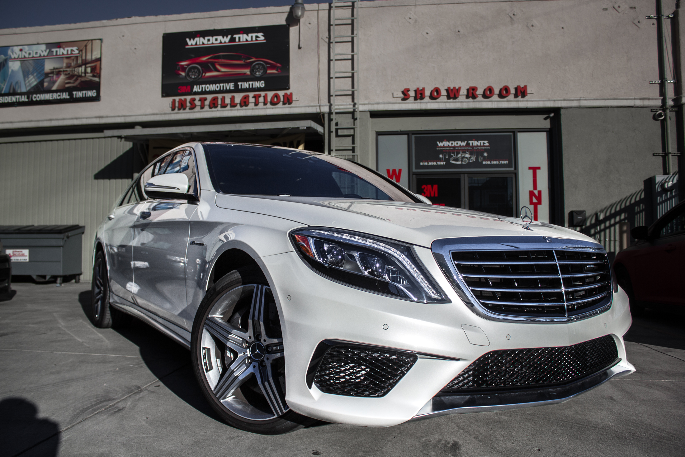 Mercedes S550 Window Tint