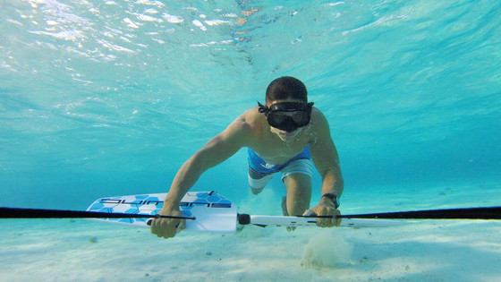 Fly underwater with Subiwng in San Andres Island