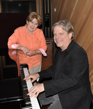 Laurie & Gord at the Piano