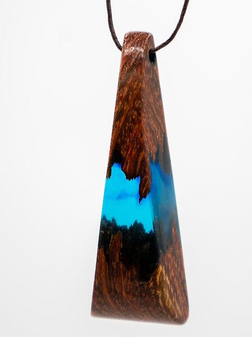 ReWood e-smog - Camel Thorn - ozeanblau - large