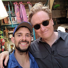 Had the pleasure to work with Conan O'Br