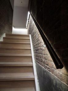 lighted handrail