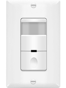 automated motion detection light switch