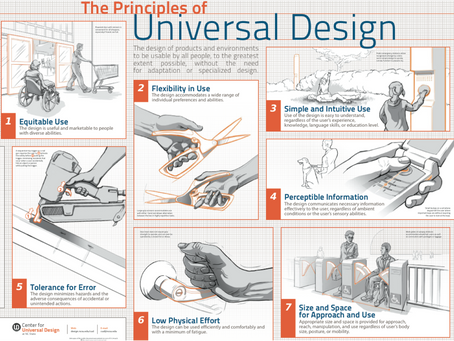 Preparing your home:  Universal Design Principles