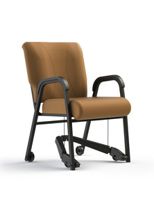 Mobility assist upholstered chair