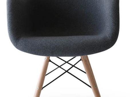 Modern Dining Chairs -- With Arms & And a Deal You'll Want to HUG
