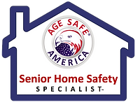 senior home safety specialist logo from Age Safe America