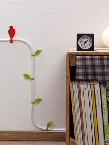 Bird cable management clips