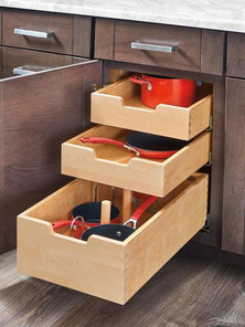 Rev-a-shelf pull out drawers
