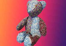Make a patchwork Teddy bear