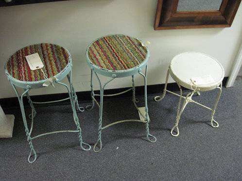 Wire stools