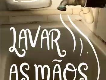 Vídeo de Lavagem de Mãos!