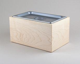 Large Maple Kitchen Compost Bin