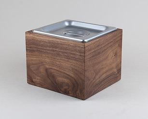 Small Walnut Kitchen Compost Bin