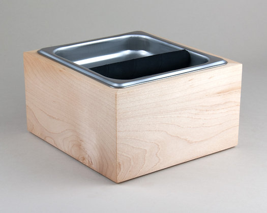 Maple Espresso Knock Box