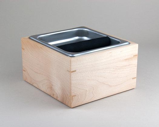 Maple Espresso Knock Box
