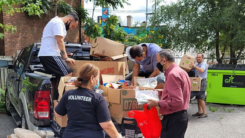 ICGO Food Donation