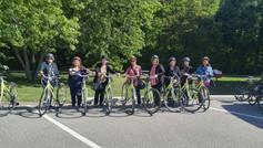Biking at Pelee Point