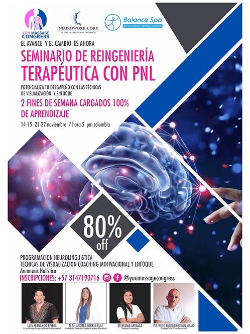 Seminario de reingeniería terapéutica con PNL