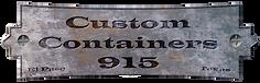 Custom Containers logo - El Paso Texas i